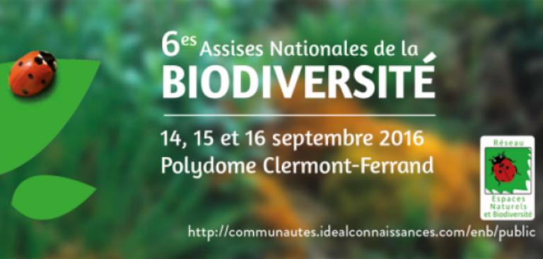 6e assise de la biodiv